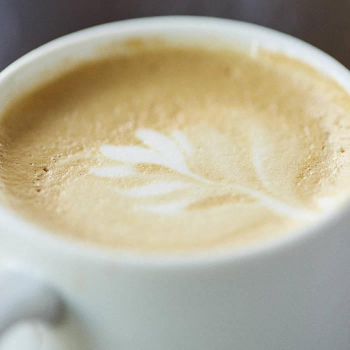Handmade barista coffee